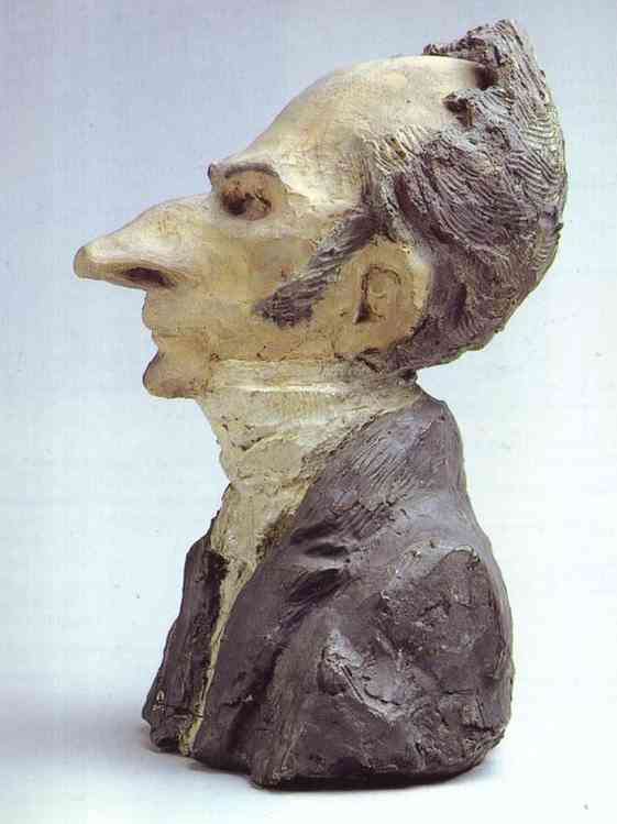 Jacques Lefèvre, sculpture de Honoré Daumier (1808-1879, France)