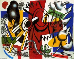 Fernand Leger - Adieu New York