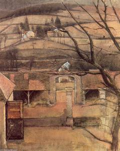 Balthus (Balthasar Klossowski) - paysage chassy