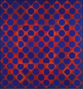 Victor Vasarely - Bellatrix C