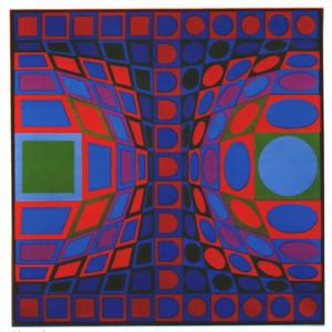 Victor Vasarely - Sinond
