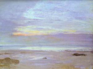 James Abbott Mcneill Whistler - Crepuscule en Opale, Trouville
