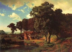 Albert Bierstadt - rustique mill