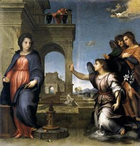 Andrea Del Sarto - L Annonciation
