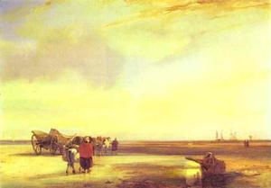 Richard Parkes Bonington - Boulogne Sands