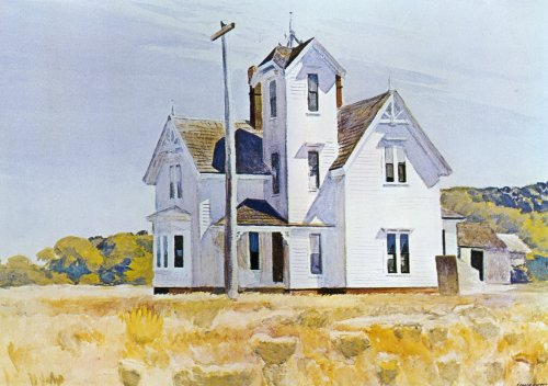 Maison eastham aquarelle de edward hopper 1931 1967 united states - Edward hopper maison ...