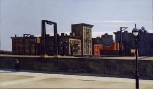 Edward Hopper - Manhattan Bridge boucle
