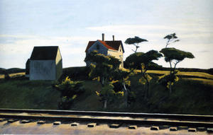 Edward Hopper - new york , new haven et hartford