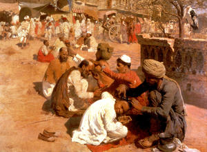 Edwin Lord Weeks - Barbiers indiennes - Saharanpore