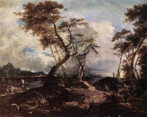 Francesco Lazzaro Guardi - Paysage