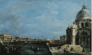 Francesco Lazzaro Guardi - Le Grand Canal venise