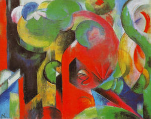 Franz Marc - petite composition iii