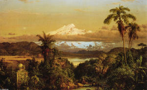 Frederic Edwin Church - Cayambe