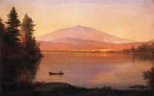 Frederic Edwin Church - Mont Katahdin de Camp Millinocket