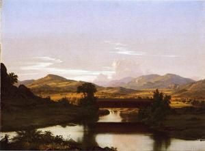 Frederic Edwin Church - Sur Otter Creek