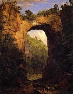 Frederic Edwin Church - le naturel pont Virginie