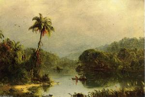 Frederic Edwin Church - Paysage Tropical 1