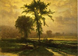 George Inness - pays route