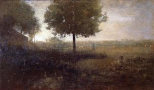 George Inness - Hazy Matin, Montclair