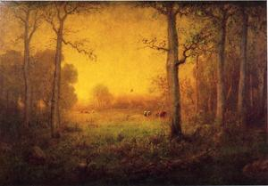 George Inness - rural paysage