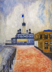 James Ensor - Cercle du phare et un restaurant