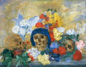 James Ensor - Grues Fleuris