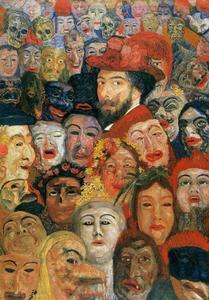 James Ensor - Ensor aux masques
