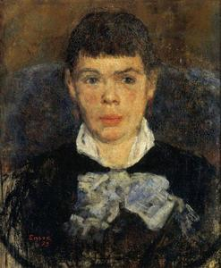James Ensor - La fille au nez retroussé