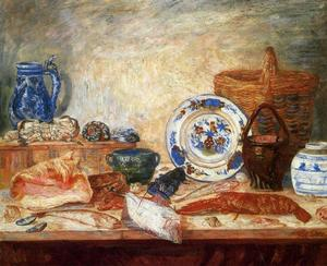 James Ensor - Poissons et coquillages homard