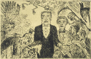 James Ensor - fierté esquisser