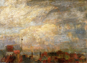 James Ensor - Abri d Ostende