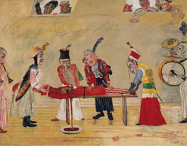 L Assassinat de James Ensor (1860-1949, Belgium) | WahooArt.com