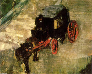 James Ensor - Le Cab