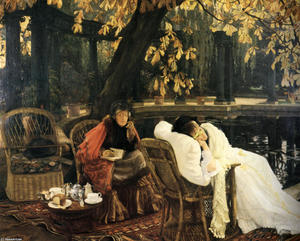 James Jacques Joseph Tissot - Une convalescence