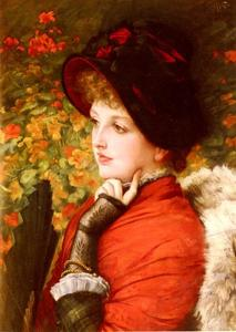 James Jacques Joseph Tissot - Type de beauté