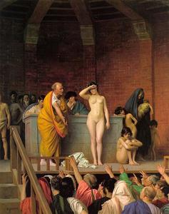 Jean Léon Gérôme - Slave Auction