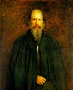 John Everett Millais - Portrait de Lord Alfred Tennyson