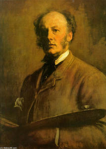 John Everett Millais - autoportrait