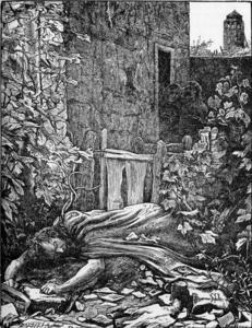 eloa 1869 de joseph michel ange pollet 1814 1870 italy reproductions de peintures c l bres. Black Bedroom Furniture Sets. Home Design Ideas