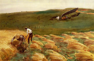 John Singer Sargent - Crashed Avion