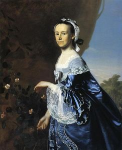 John Singleton Copley - Mrs.James Warren (Mercy Otis)