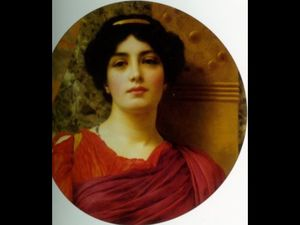 John William Godward - la contemplation