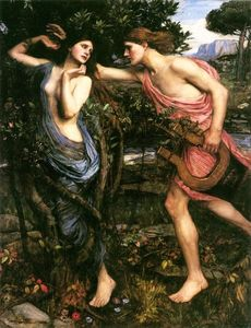 John William Waterhouse - Apollon et Daphné
