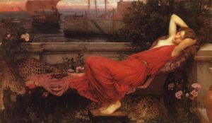 John William Waterhouse - Ariane