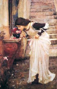 John William Waterhouse - Au lieu de culte