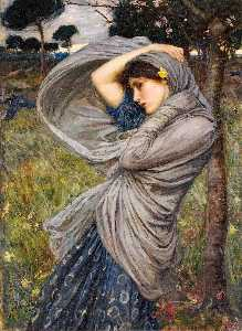 John William Waterhouse - Boréas