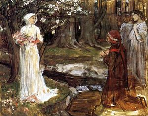 John William Waterhouse - Dante et Béatrice