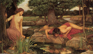 John William Waterhouse - Echo et Narcisse