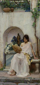 John William Waterhouse - Flore