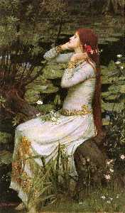 John William Waterhouse - ophélie